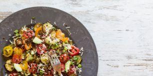 Salade met linzen 2