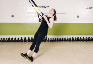 TRX Low row 1